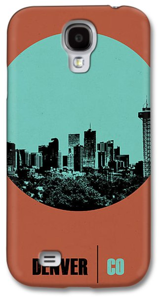 Denver Circle Poster 1 Galaxy S4 Case by Naxart Studio