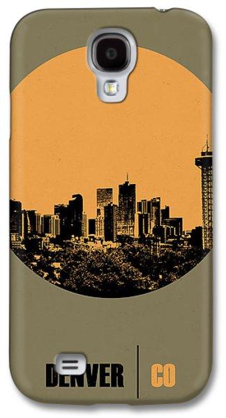 Denver Circle Poster 2 Galaxy S4 Case
