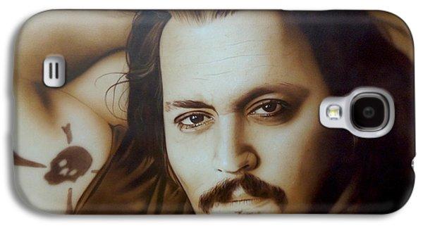 Johnny Depp - ' Depp II ' Galaxy S4 Case
