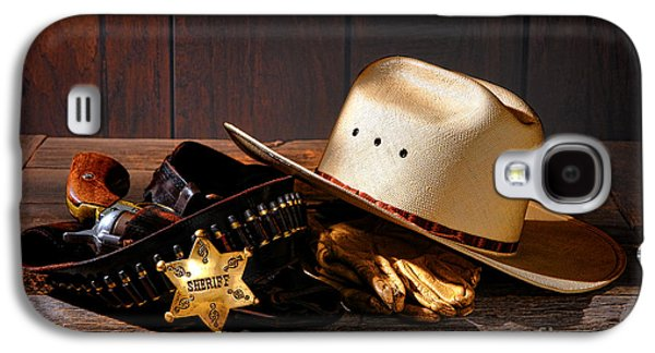 Deputy Sheriff Gear  Galaxy S4 Case by Olivier Le Queinec