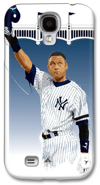 Derek Jeter 3000 Hits Galaxy S4 Case by Scott Weigner