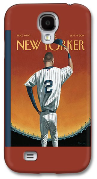 Derek Jeter Bows Galaxy S4 Case