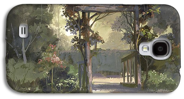 Descanso Gardens Galaxy S4 Case by Michael Humphries