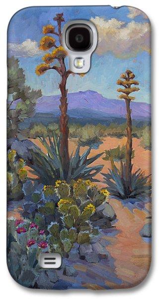 Desert Century Plants Galaxy S4 Case by Diane McClary