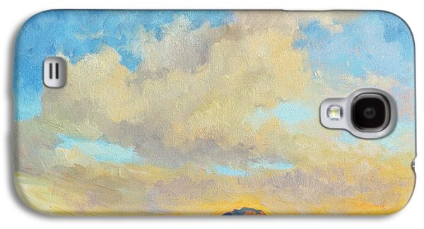 Mountain Sunset Galaxy S4 Case - Desert Clouds by Diane McClary