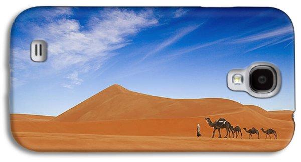 Camel Galaxy S4 Case - Desert Life .. by Hesham Alhumaid