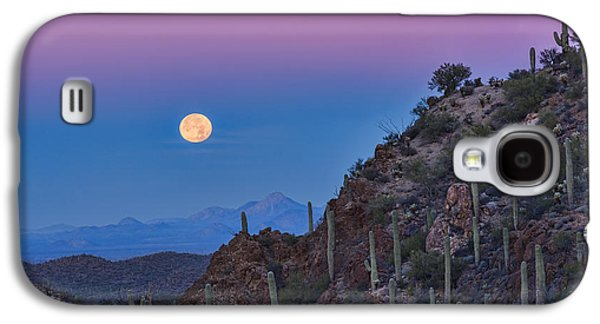 Desert Moonset Galaxy S4 Case