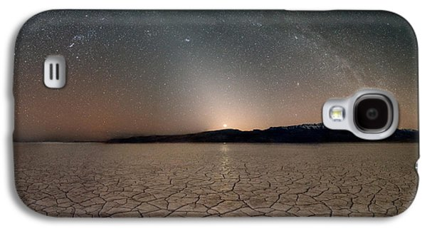 Desert Night Galaxy S4 Case by Leland D Howard