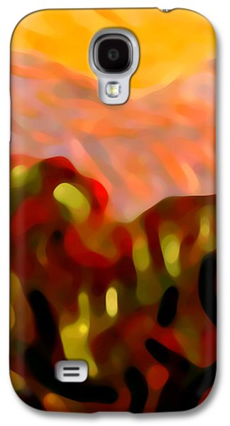 Desert Olive Trees Galaxy S4 Case by Amy Vangsgard