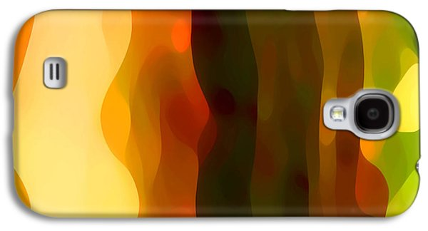 Abstract Digital Art Paintings Galaxy S4 Cases - Desert Pattern 1 Galaxy S4 Case by Amy Vangsgard