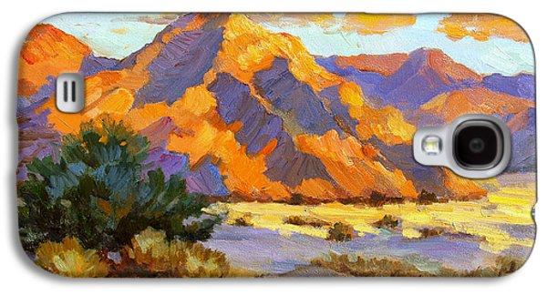 Desert Sunset Galaxy S4 Case - Desert Sunset by Diane McClary