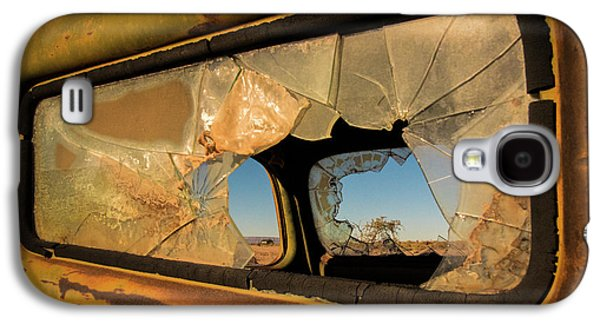 Truck Galaxy S4 Case - Deserted by Linda Wride