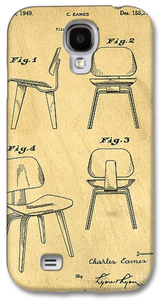 Designs For A Eames Chair Galaxy S4 Case by Edward Fielding