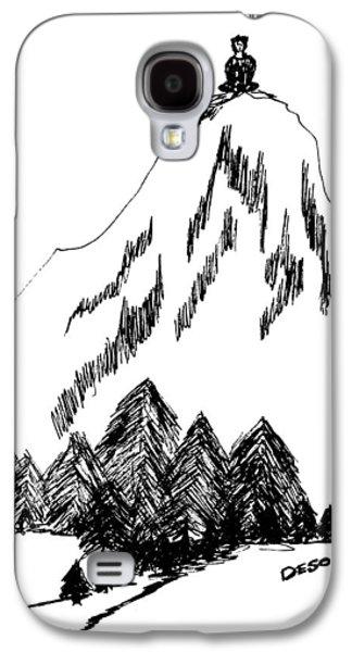 Desolation Peak_alone Time Galaxy S4 Case by Donna Haggerty