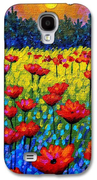 Detail From Twilight Poppies  Galaxy S4 Case by John  Nolan