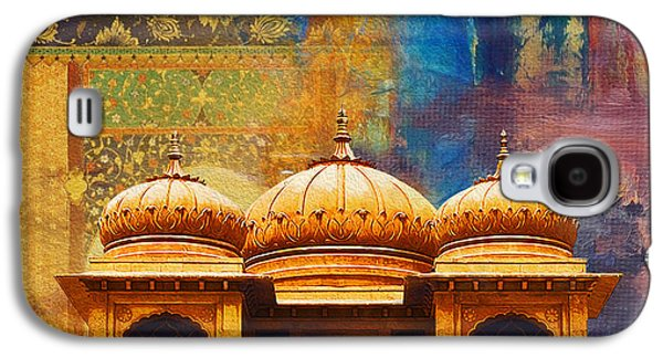 Detail Of Mohatta Palace Galaxy S4 Case by Catf