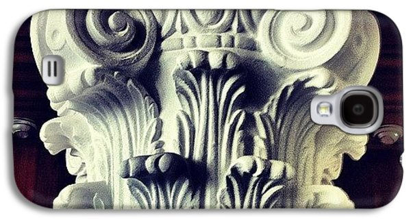 Design Galaxy S4 Case - #details Of A Decorational #pillar by Sascha  Buchholz