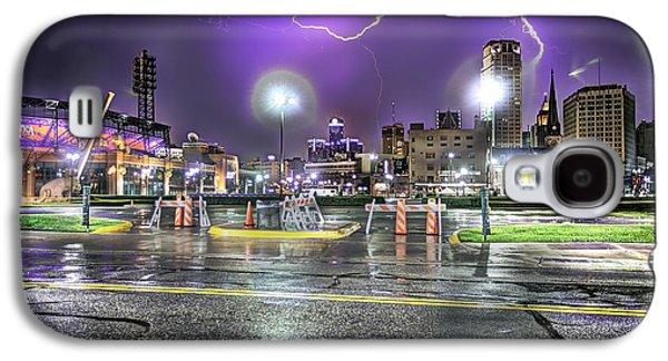 Detroit Lightning Detroit Mi Galaxy S4 Case by A And N Art