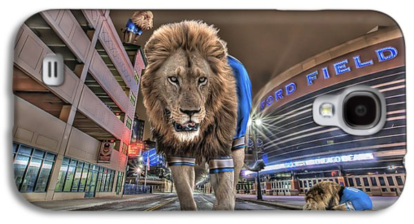 Detroit Lions At Ford Field Galaxy S4 Case