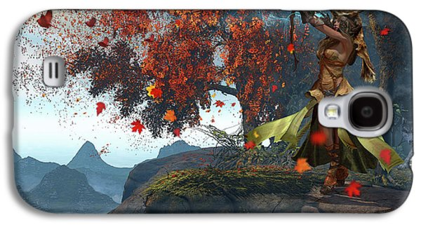 Devana, Slavic Goddess Of The Hunt Galaxy S4 Case by Kurt Miller