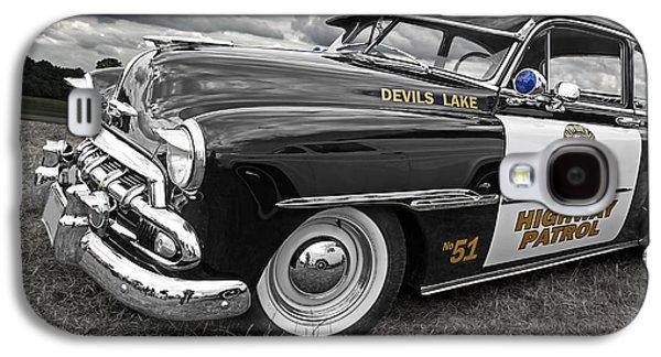 Devils Lake Highway Patrol - '51 Chevy Galaxy S4 Case by Gill Billington