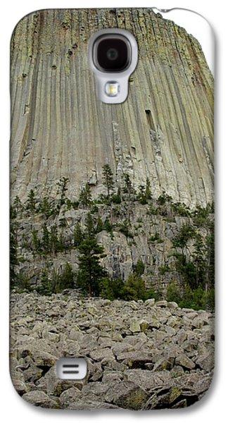 Devils Tower National Monument 2 Galaxy S4 Case by Elizabeth Sullivan