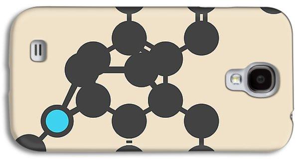 Dextromethorphan Cough Drug Molecule Galaxy S4 Case by Molekuul
