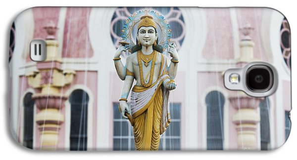 Dhanvantari Fountain Statue Puttaparthi India Galaxy S4 Case by Tim Gainey