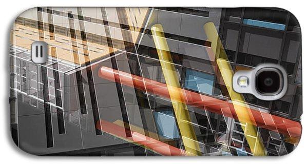 Diagonal Mondrian Galaxy S4 Case by Wayne Sherriff