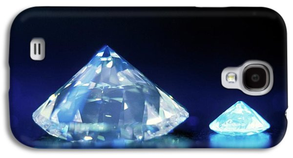 Diamonds Under Uv Light Galaxy S4 Case by Patrick Landmann