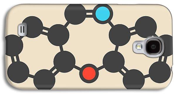 Dibenzoxazepine Tear Gas Molecule Galaxy S4 Case by Molekuul