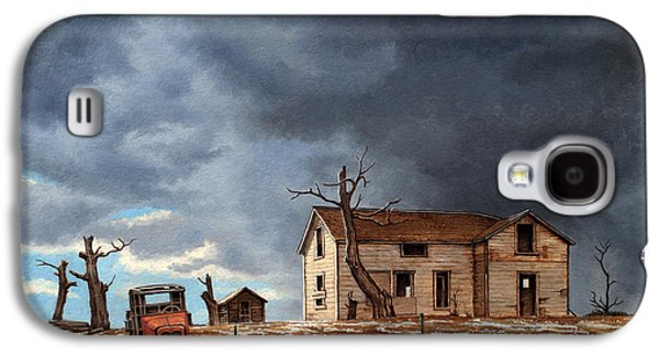 Truck Galaxy S4 Case - Different Day At The Homestead by Paul Krapf