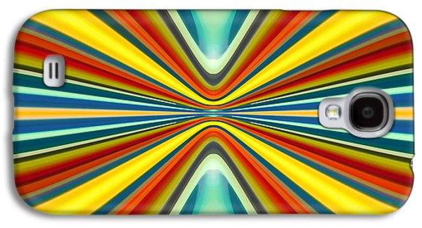 Digital Art Pattern 8 Galaxy S4 Case by Amy Vangsgard