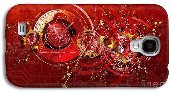 Digital Time Shift Galaxy S4 Case by Franziskus Pfleghart