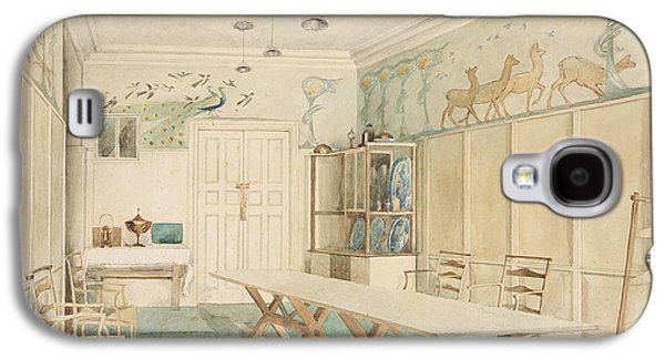 Dining Room At 37 Cheyne Walk, Chelsea Galaxy S4 Case by Charles Robert Ashbee