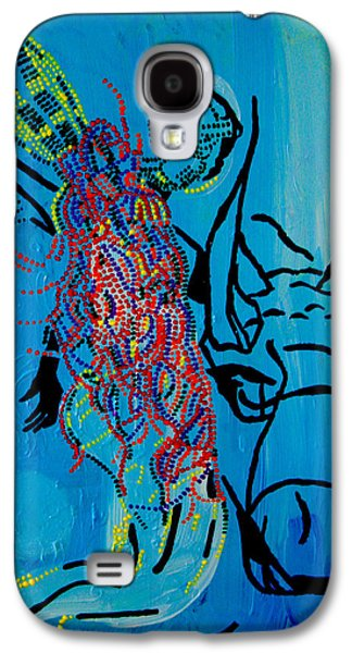 Dinka Groom - South Sudan Galaxy S4 Case
