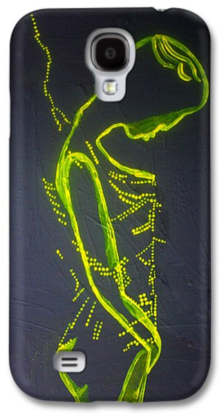 Dinka Painted Lady Galaxy S4 Case by Gloria Ssali