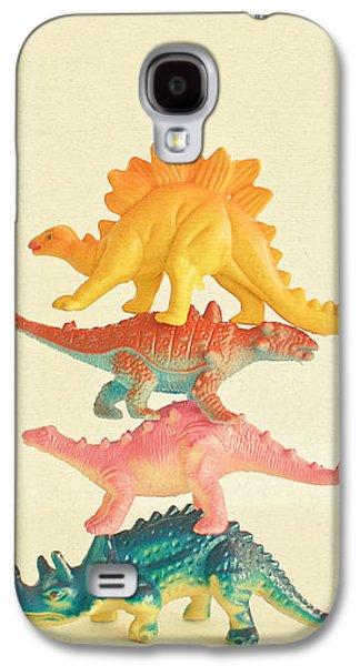 Dinosaur Antics Galaxy S4 Case
