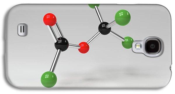 Diphosgene Molecule Galaxy S4 Case by Indigo Molecular Images
