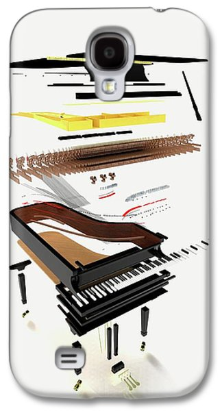 Disassembled Parts Of A Grand Piano Galaxy S4 Case by Dorling Kindersley/uig