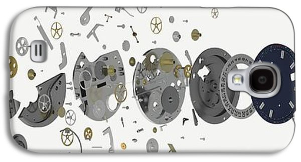Disassembled Parts Of A Wristwatch Galaxy S4 Case by Dorling Kindersley/uig