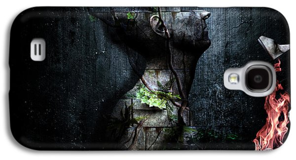 Dismantle The Dark We March On Galaxy S4 Case by Cameron Gray