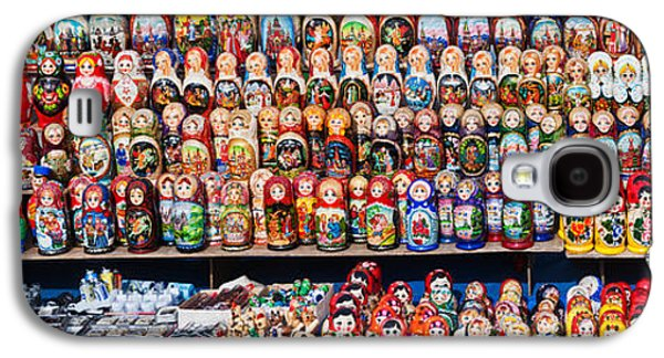 Display Of The Russian Nesting Dolls Galaxy S4 Case by Panoramic Images