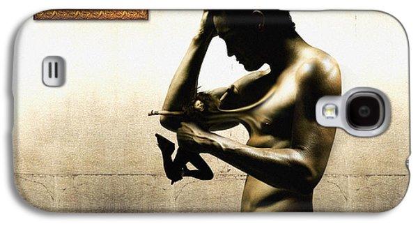 Divide Et Pati - Divide And Suffer Galaxy S4 Case by Alessandro Della Pietra