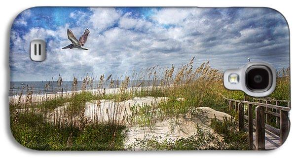 Divine Beach Day  Galaxy S4 Case by Betsy Knapp