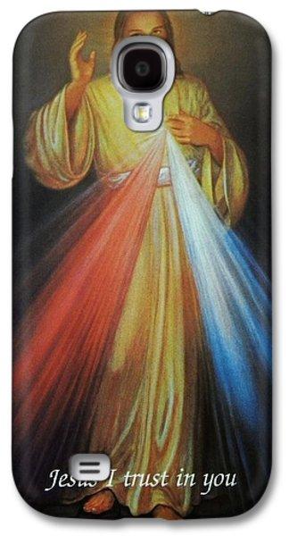 Divine Mercy Jesus Galaxy S4 Case