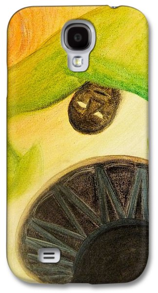 Galaxy S4 Case featuring the painting Djembe by Marc Philippe Joly