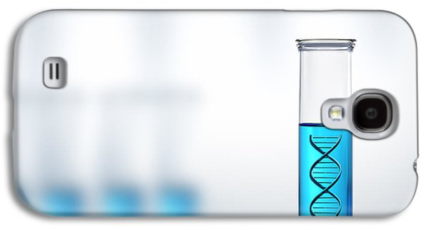 Dna Research Or Testing In A Laboratory Galaxy S4 Case by Johan Swanepoel