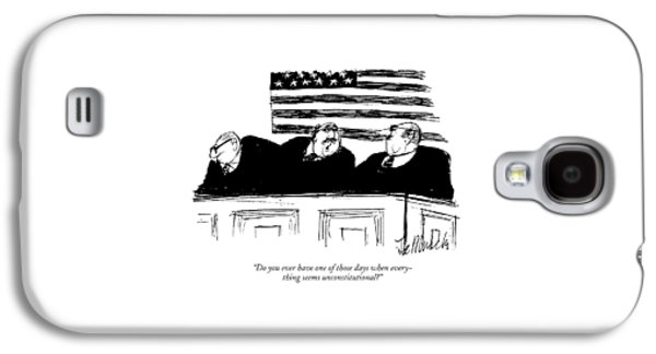 Do You Ever Have One Of Those Days When Galaxy S4 Case by Joseph Mirachi