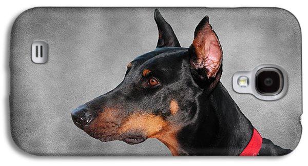 Doberman Pinscher Galaxy S4 Case by Paul Ward